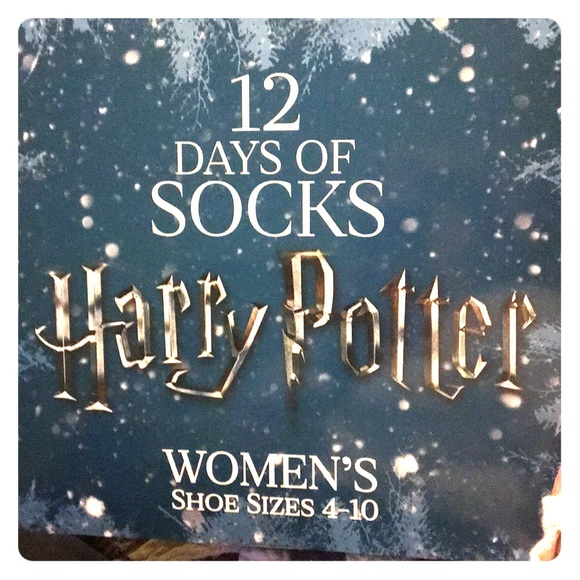 12 days of harry potter socks collection